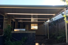 Colorbond Pergola in Berwick Melbourne - After