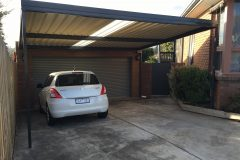 Stratco Colorbond Carport Melbourne - After