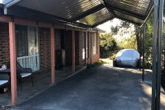 Gable Roof Colorbond Steel Carport Melbourne