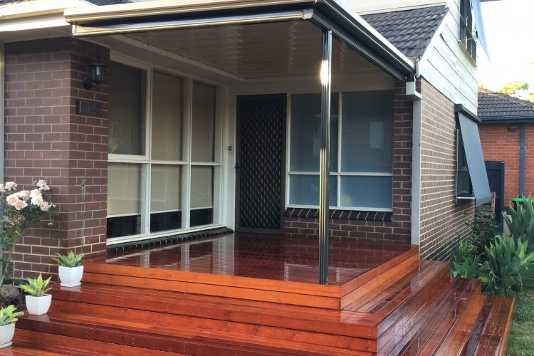 Porch Decking & Verandah