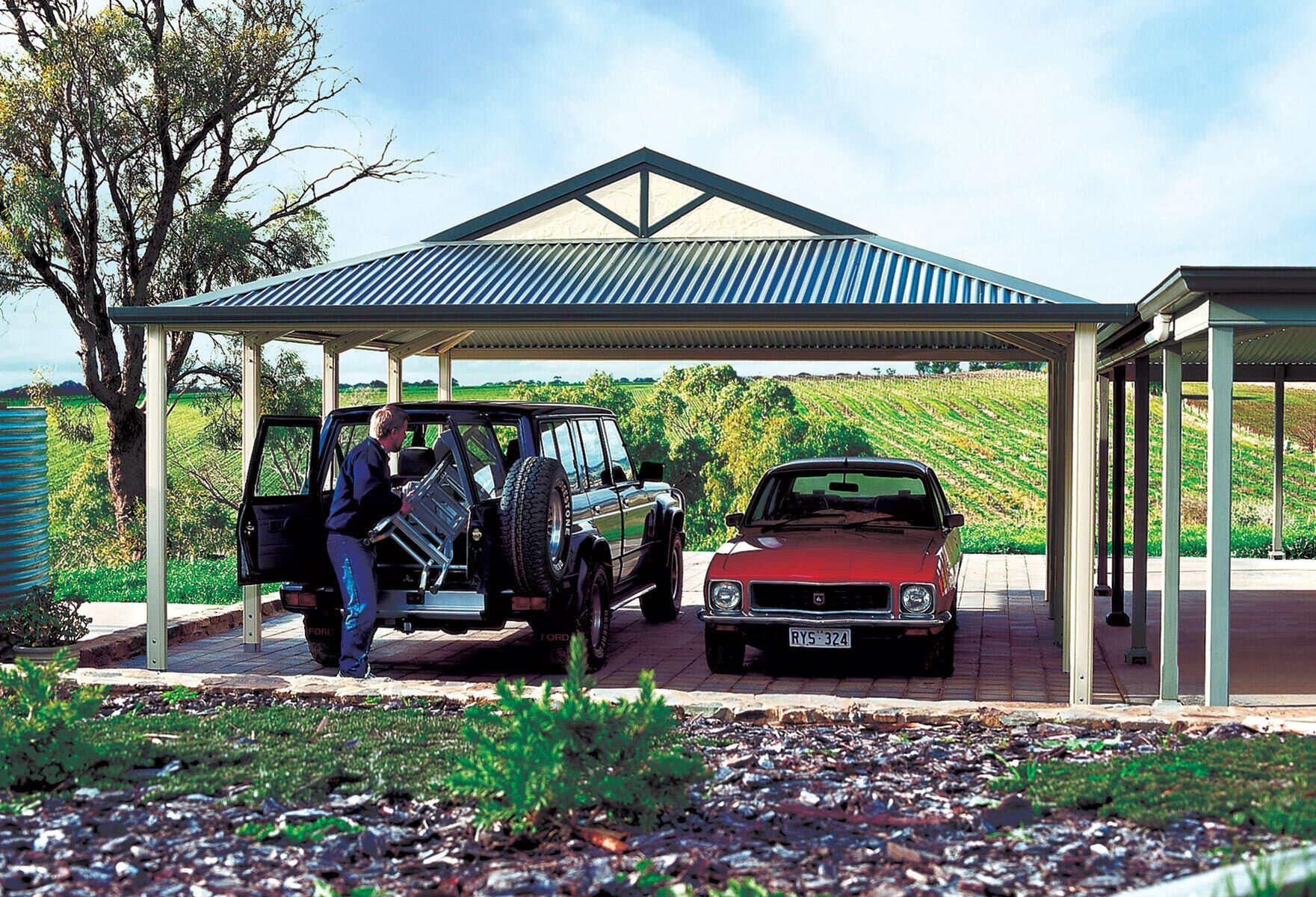 Colorbond Carports in Melbourne - Undercover Concepts