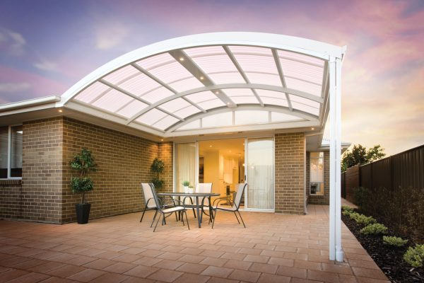 Curved Roof Patio Melbourne
