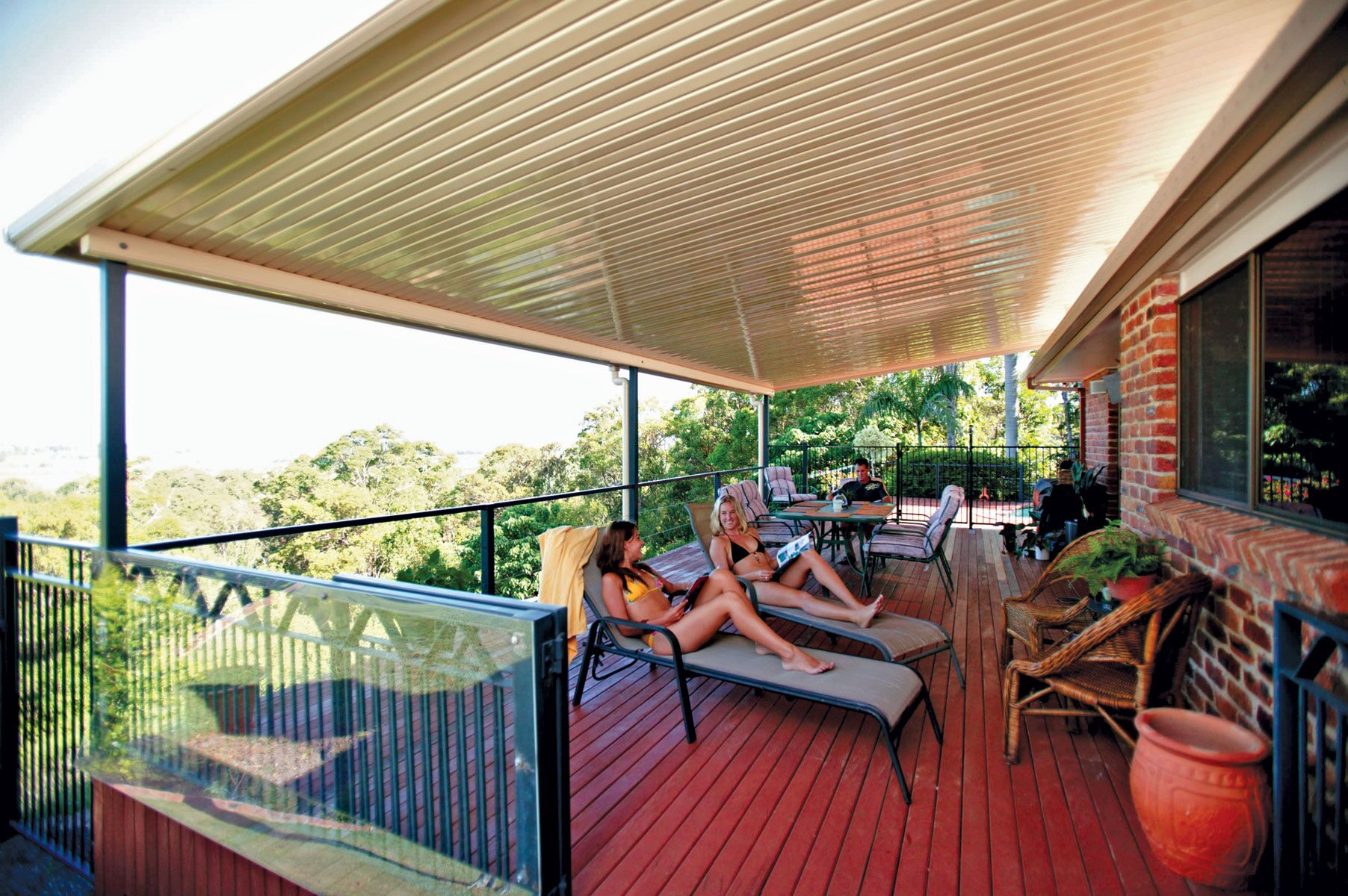 Flat Roof Patios In Melbourne Undercover Concepts