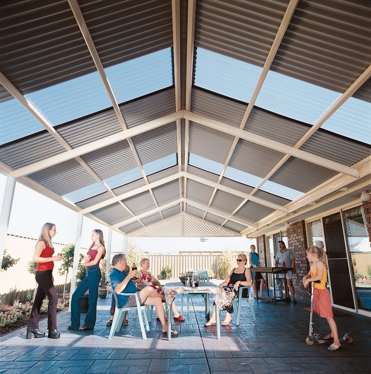 Gable Roof Patios In Melbourne Undercover Concepts