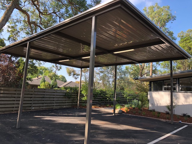 Colorbond Steel Carport Melbourne