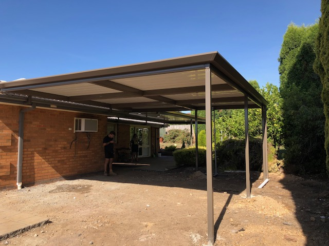 Colorbond Steel Pergola Melbourne