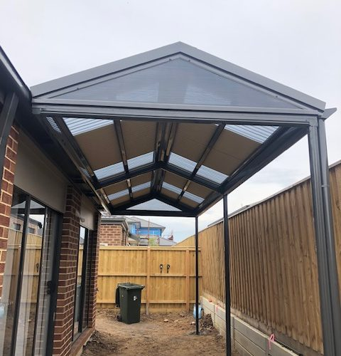Pitched Roof Pergola Melbourne