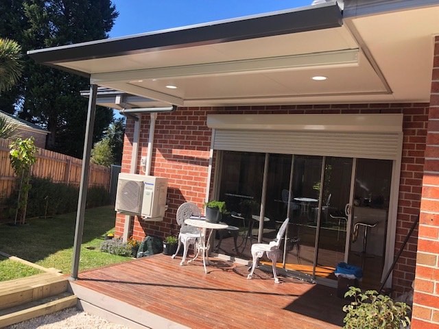 Flat Roof Pergola in Melbourne